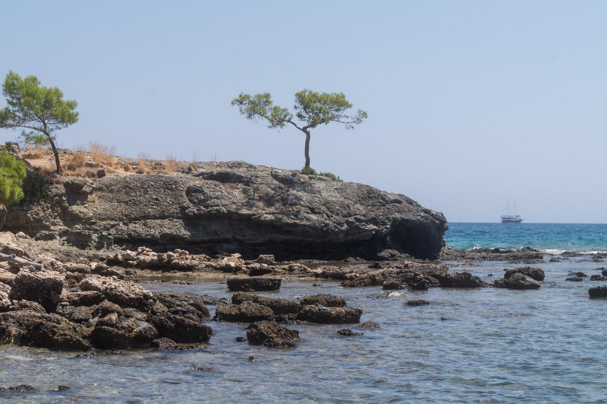 Фазелис. На море.