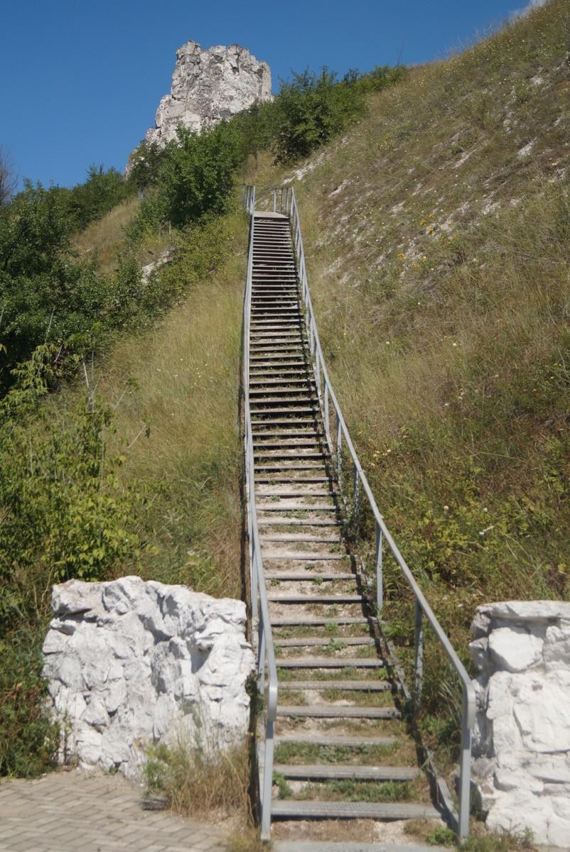 Дивногорье. Лестница на плато.