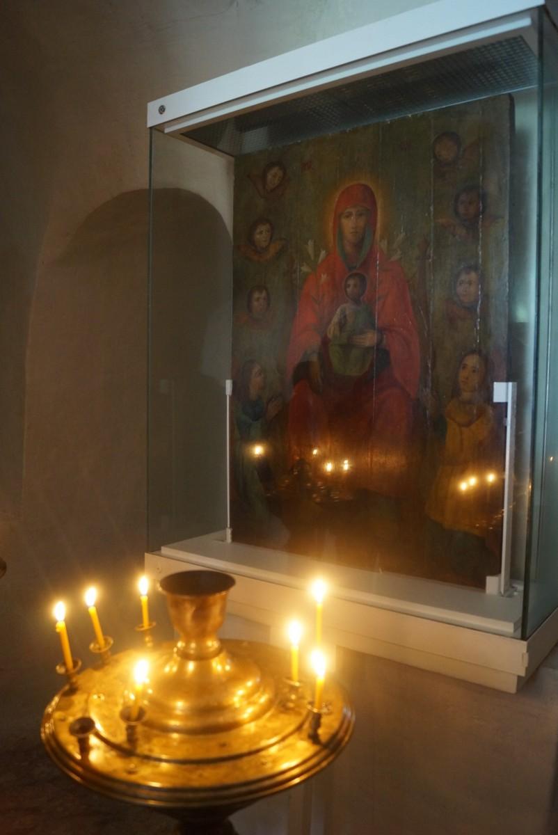 Дивногорье. Сицилийская икона Божией матери.