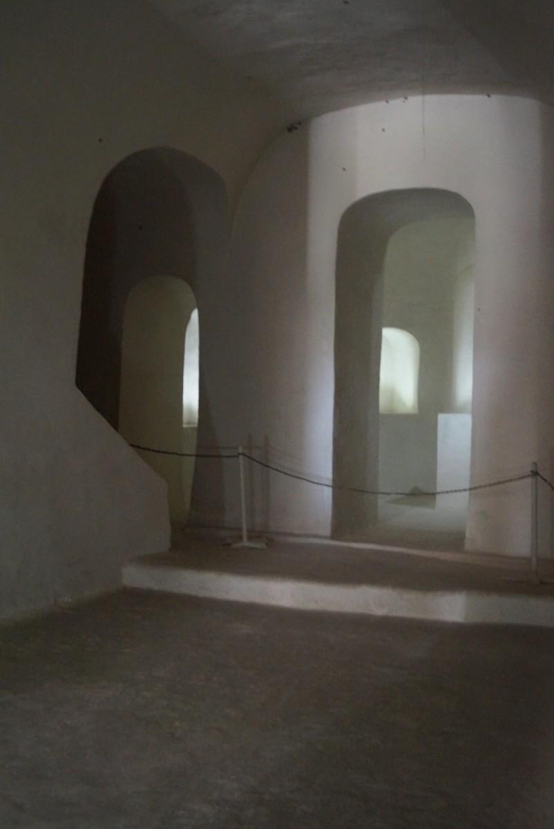 Дивногорье. Церковь Сицилийской иконы Божией матери. Алтарь.