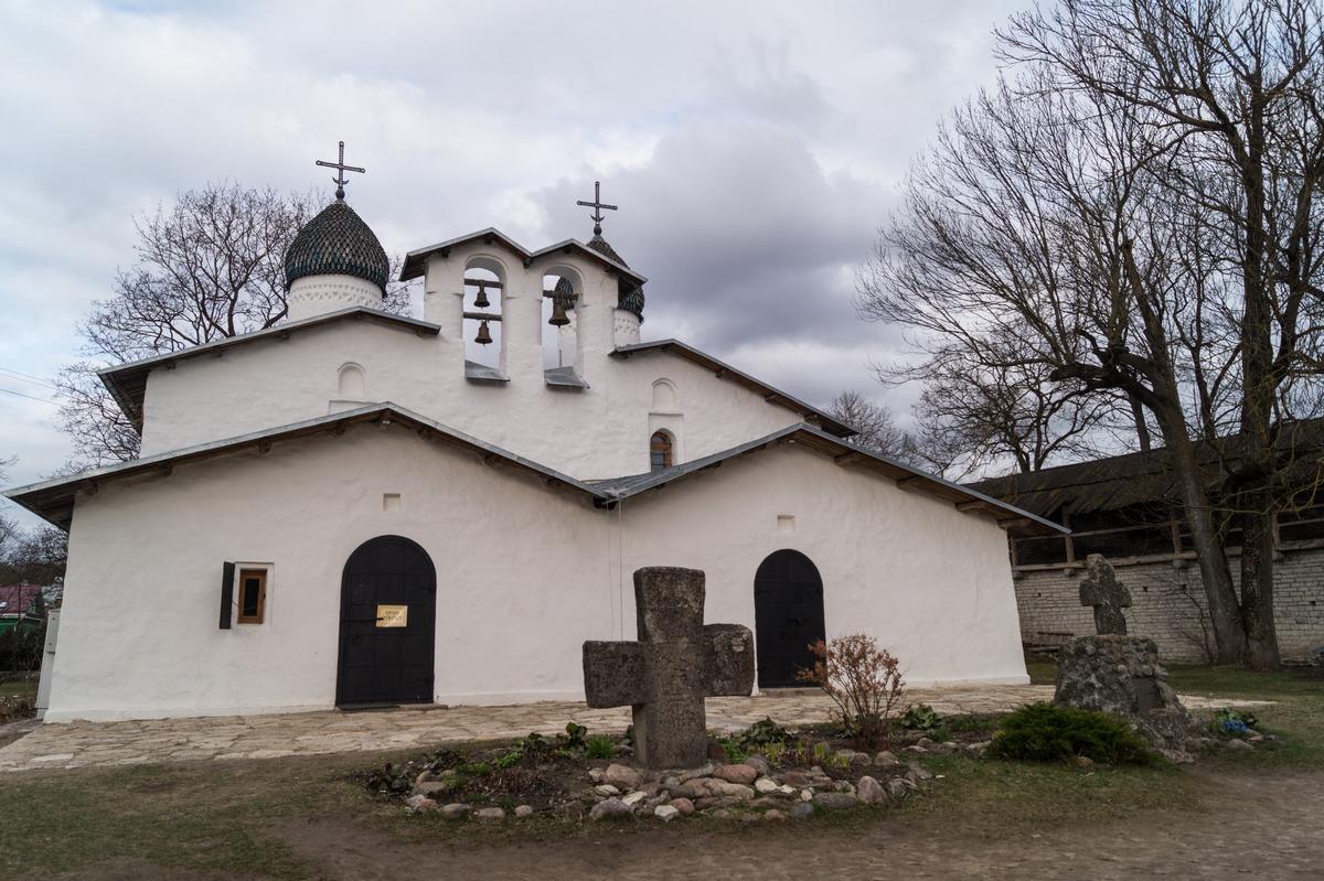 Псков. Покровско-Рождественская церковь.