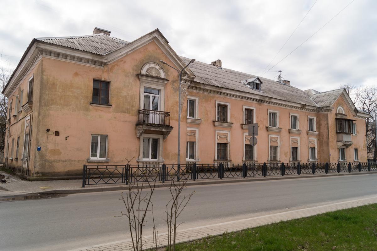 Псков. Жилой доходный дом Граудума. Начало 20 века.