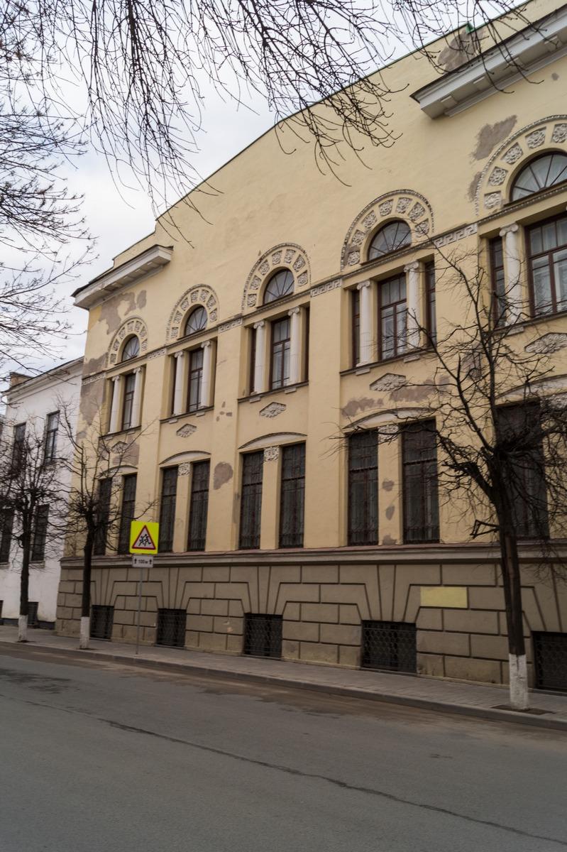 Псков. Здание, разминированное группой лейтенанта Корнеева.
