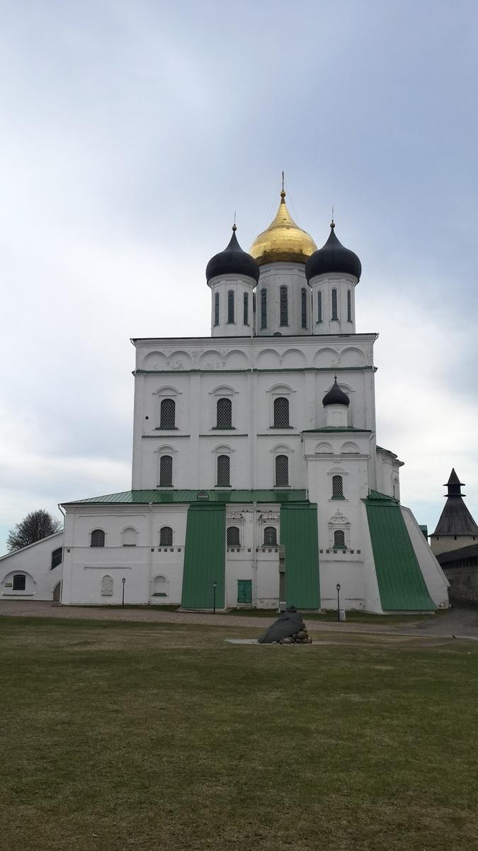 Псковский кремль.Троицкий собор.
