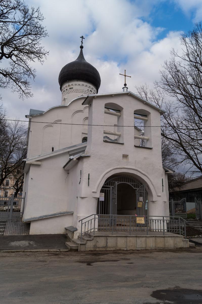 Псков. Церковь Георгия на Взвозе.