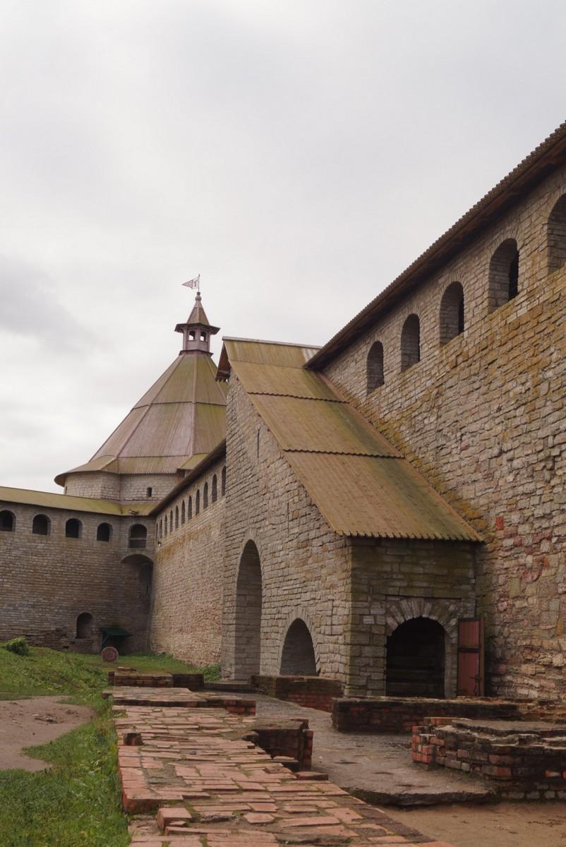 Крепость Орешек. Хорошая реконструкция.