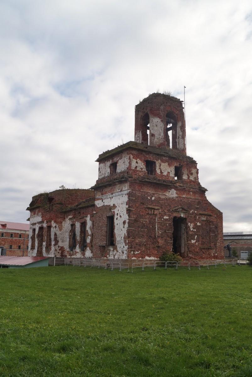 Крепость Орешек. Иоанновский собор.