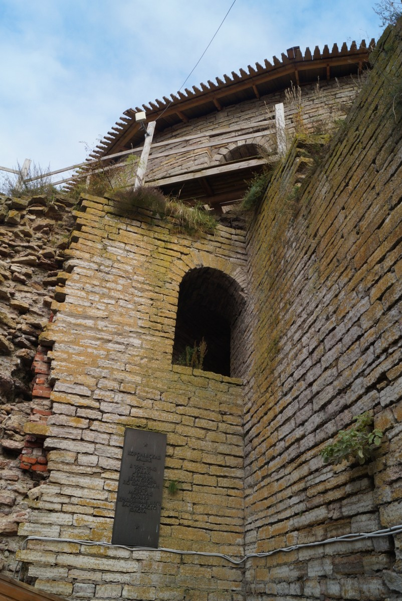 Крепость Орешек. У Королевской башни в цитадели.