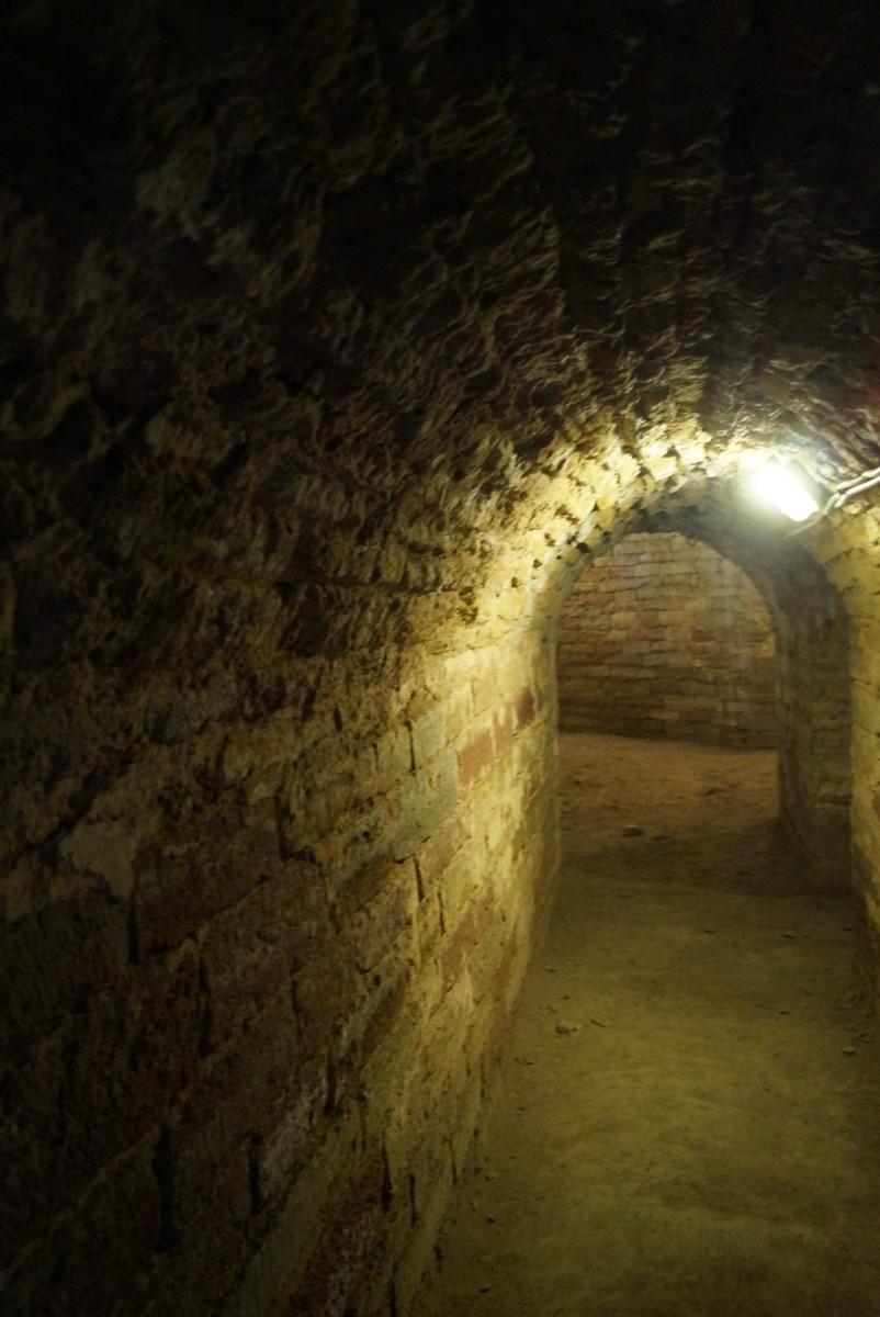 Крепость Орешек. В подземелье Королевской башни.