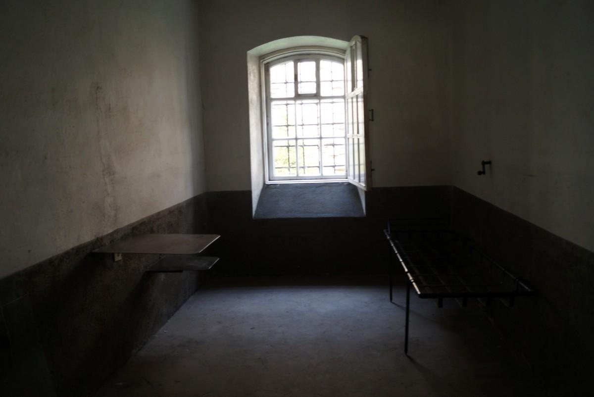 Крепость Орешек. Старая тюрьма. Камера.