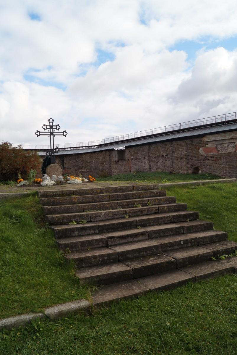 Крепость Орешек. В память о погибших при взятии Нотебурга в 1702 году.