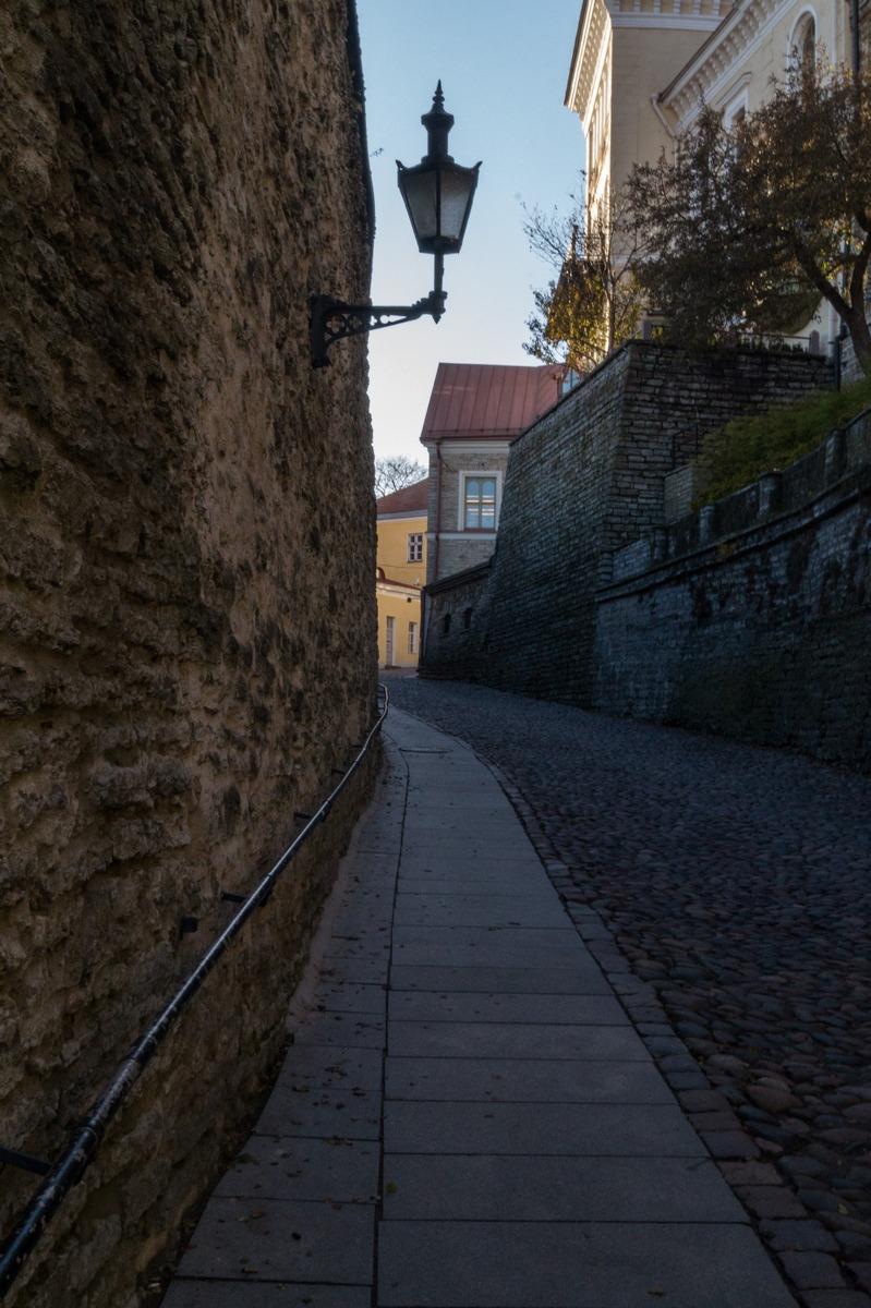 Таллин. На улице Пикк Ялг.