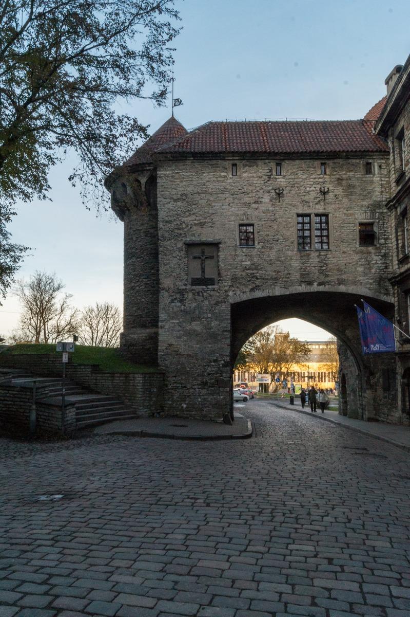 Таллин. Большие Морские ворота.