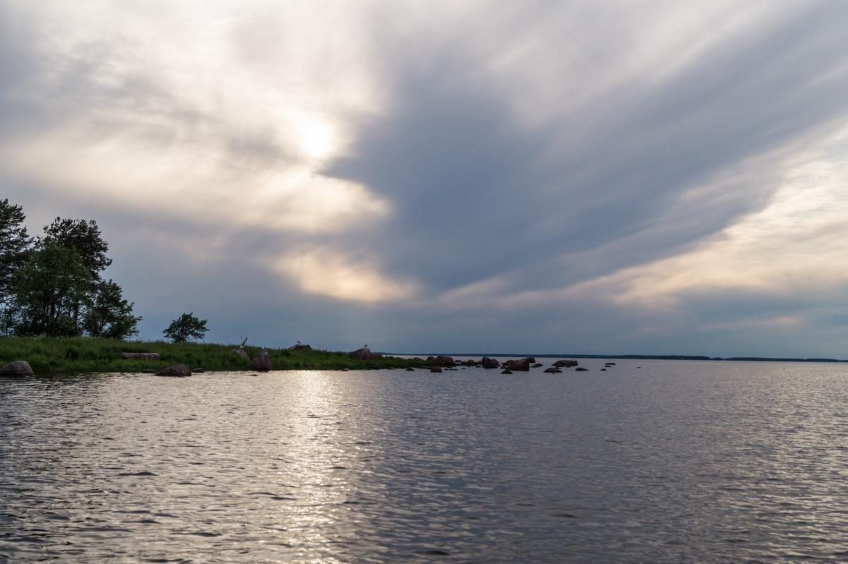 На Финском заливе. Лето.
