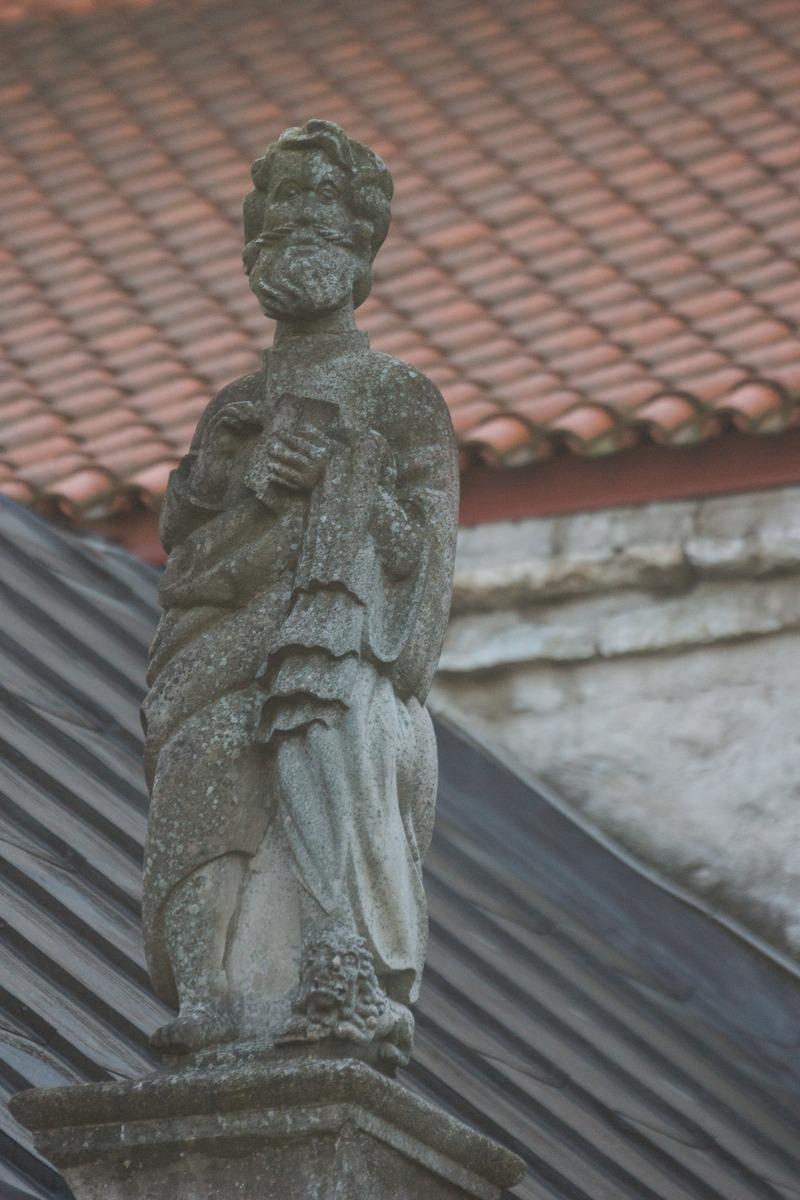 Таллин. У церкви Нигулисте.
