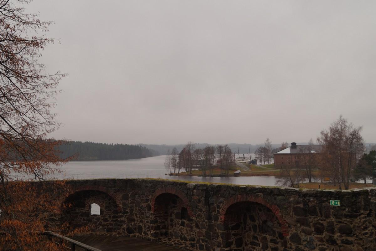 Финляндия. В крепости Олавинлинна. Высоко сижу - далеко гляжу.
