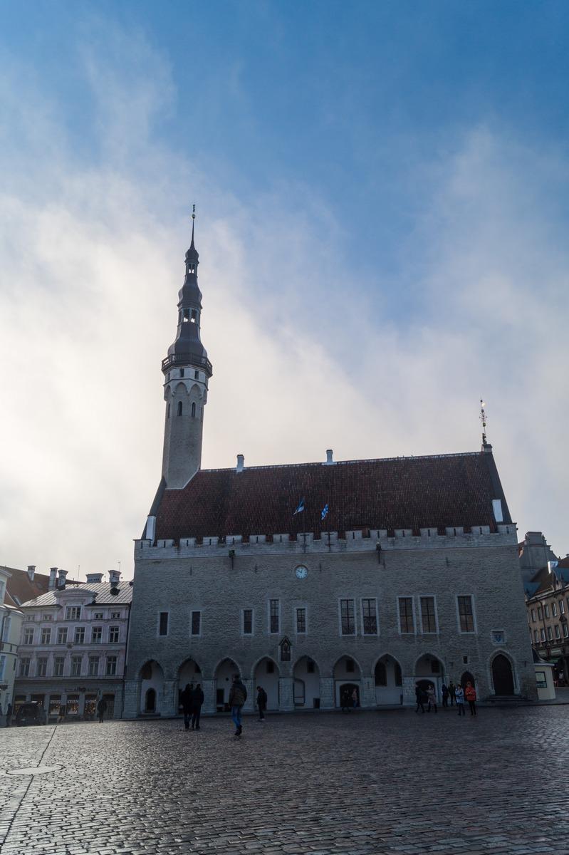 Таллин. Здание городской ратуши.