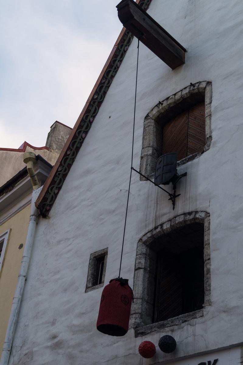 Таллин. Дом в Старом городе.