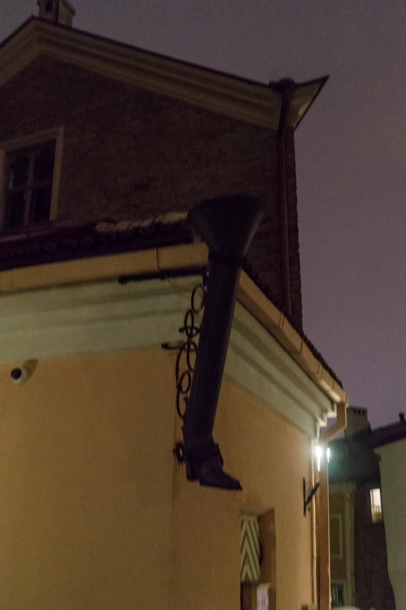 Вечерний Таллин. На улице Пикк-Ялг.
