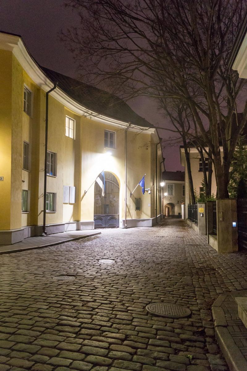 Вечерний Таллин. Еще по улочкам.
