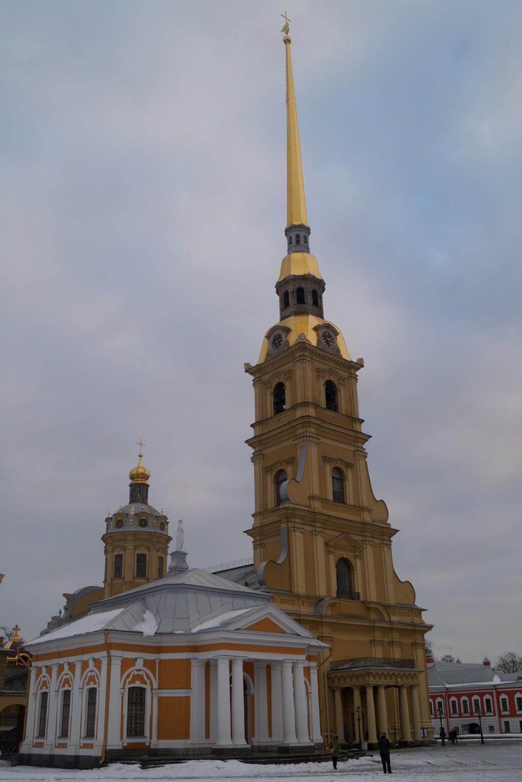 Петропавловка. На Соборной площади.