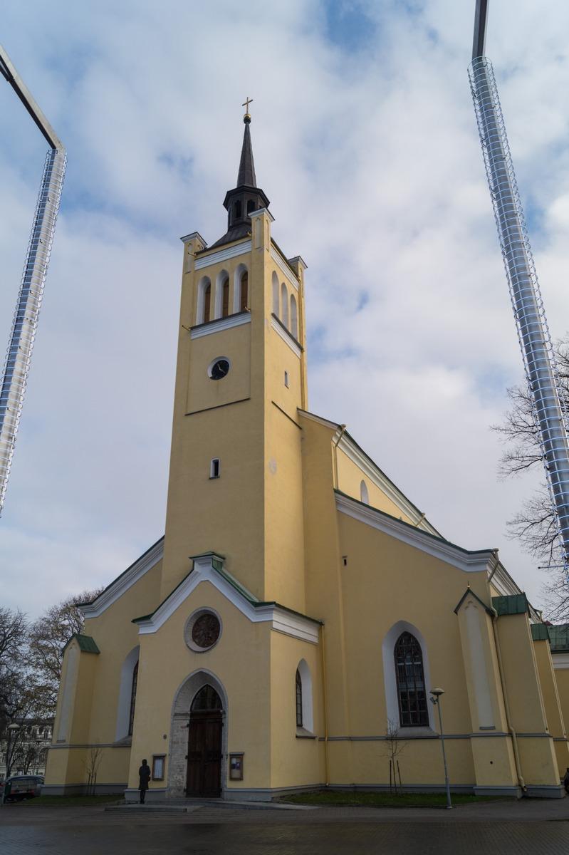 Таллин. Иоанновская церковь.