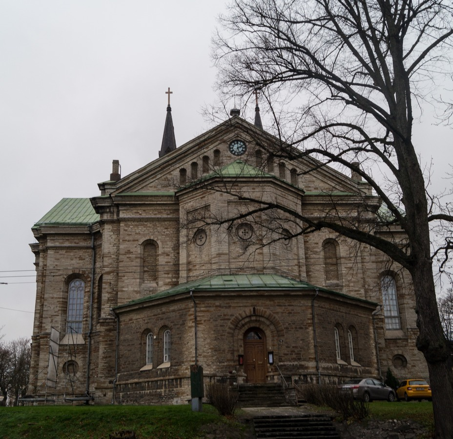 Таллин. Церковь Каарли.