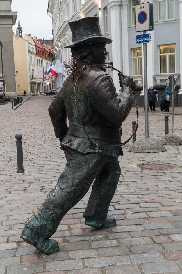 Таллин. Трубочист.