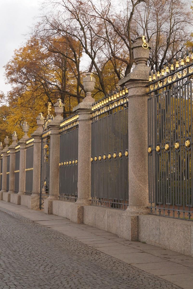 Санкт-Петербург. Решетка Летнего сада.