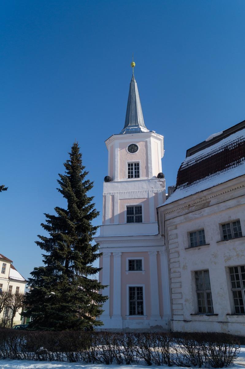 Эстония. Валга. Церковь Святого Иоанна.
