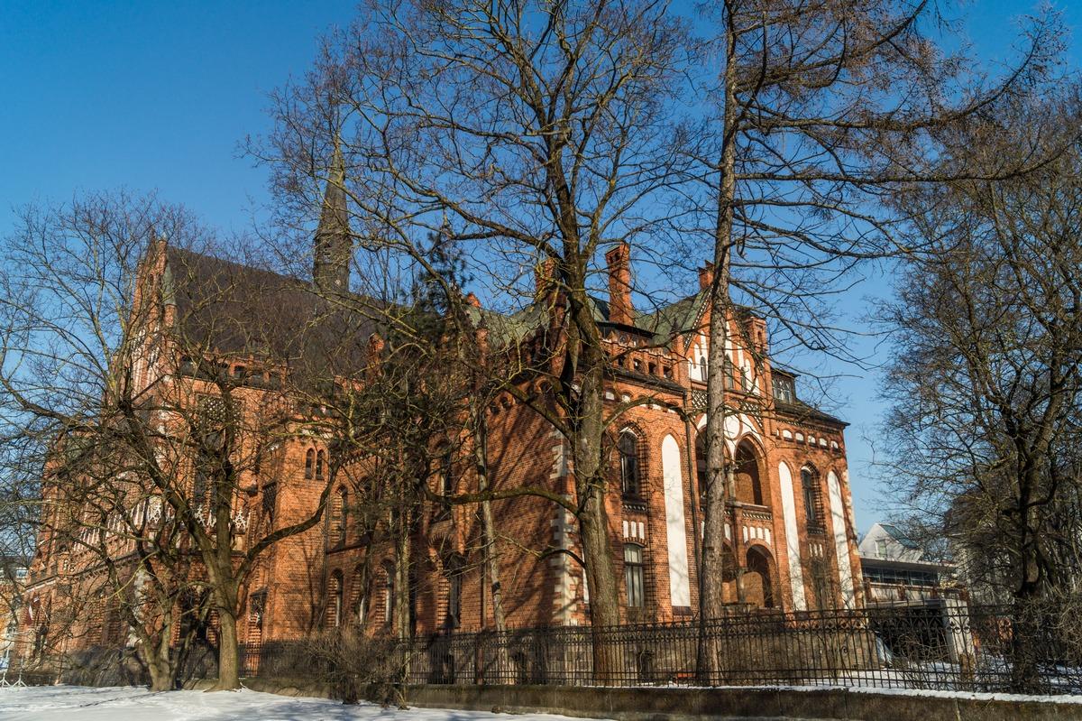 Рига. Здание Латвийской художественной академии.