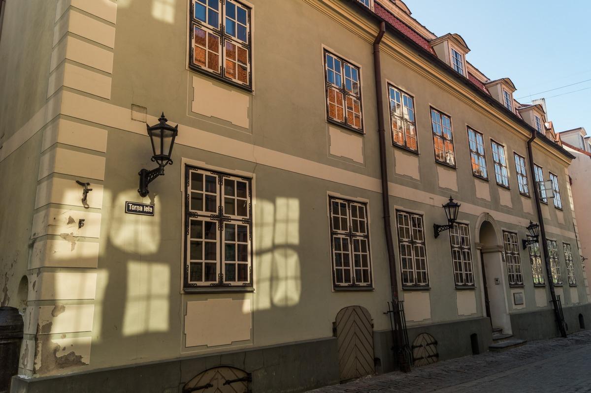 Рига. Старый город. На улице Торня.