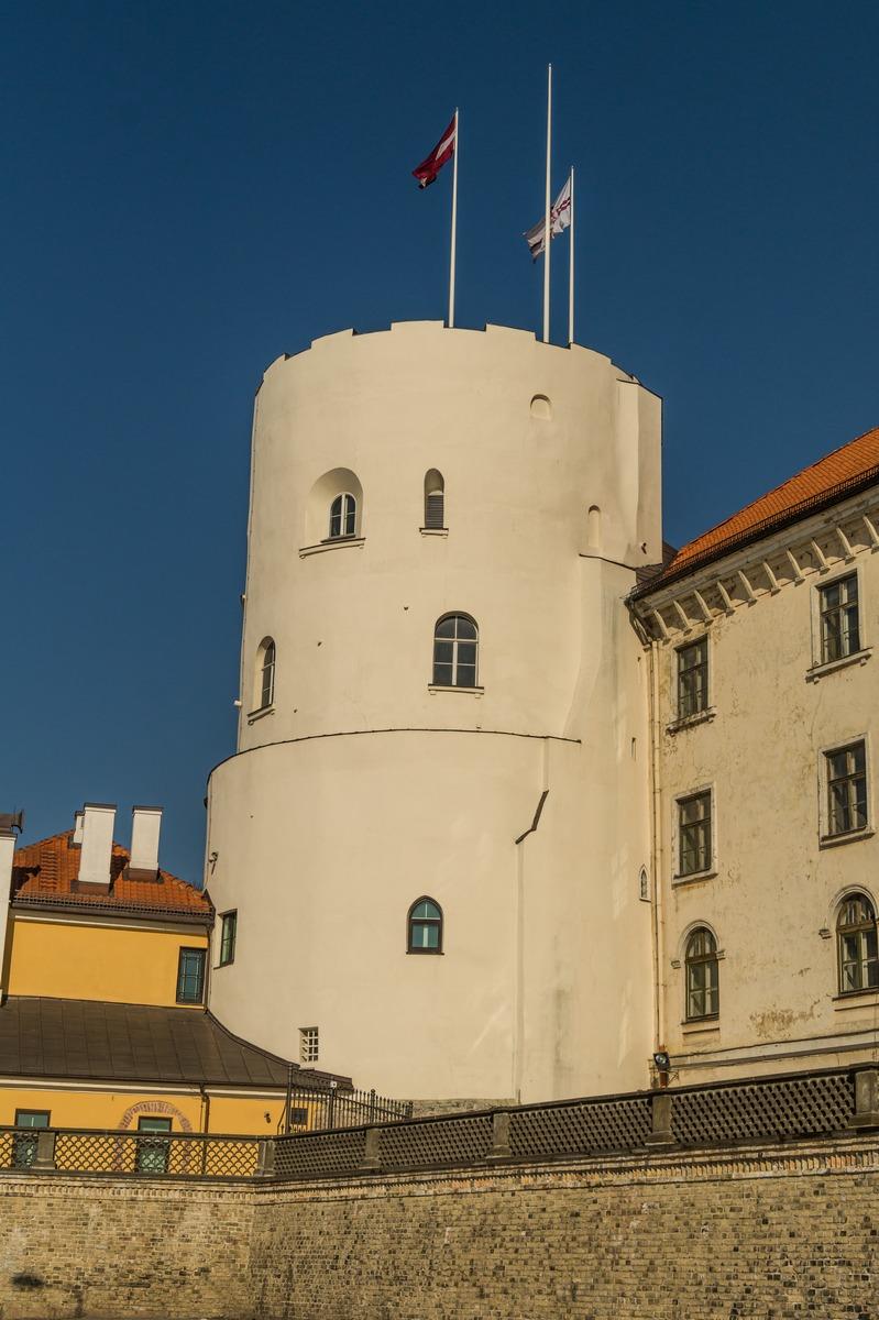 Башня Рижского замка.