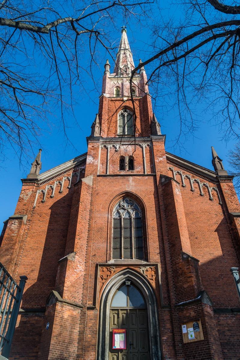 Рига. Англиканская церковь Святого Искупителя.