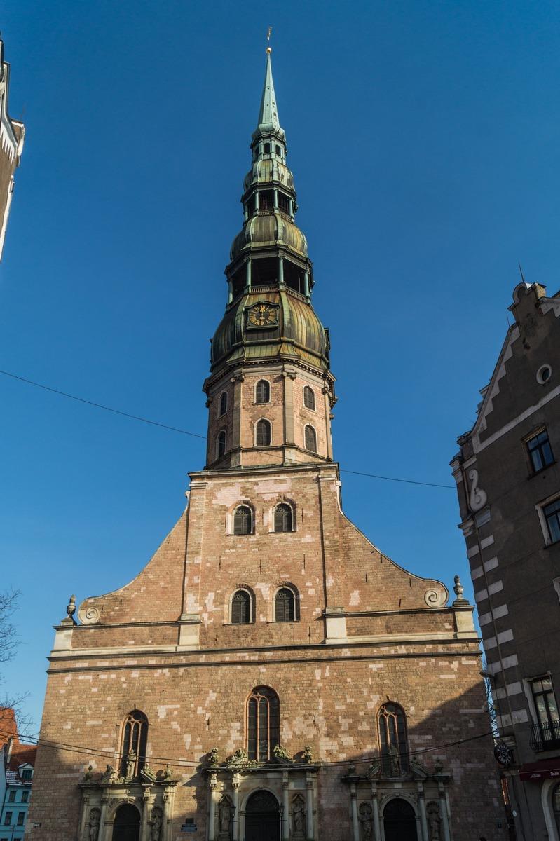 Рига. Собор Святого Петра.