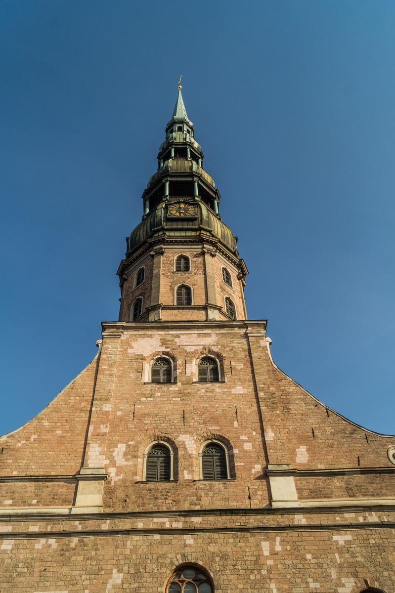 Рига. Собор Святого Петра. Высота.